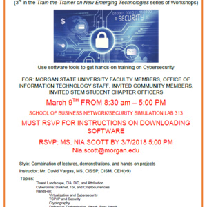 Cybersecurity Hands On Workshop