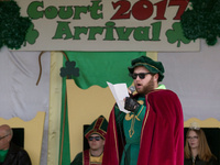 St. Pat's Pine Street Procession and Court Arrival