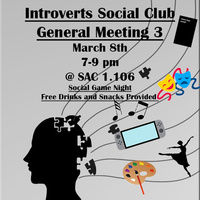 Introverts Social Club General Meeting 3