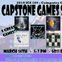2018 UCI Computer Game Science Capstone Project Showcase