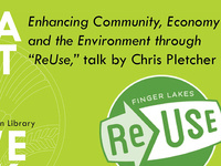 """Enhancing Community, Economy and the Environment through """"ReUse"""""""