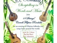 O, Musika! Storytelling in Words and Music: A Performance by 14 Strings! Cornell Filipino Rondalla