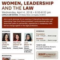 Women, Leadership and the Law