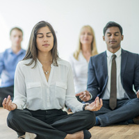 15-Minute Guided Meditation and Stretch at 2108 Building
