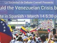 Public Debate: How should the Venezuelan Crisis be solved?