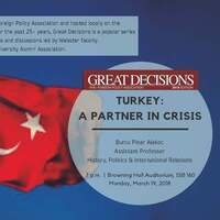 Great Decisions 2018 | Turkey: A Partner in Crisis