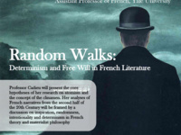 "Morgane Cadieu: ""Random Walks: Determinism and Free Will in French Literature"""