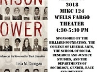 Presentation by Dr. Lisa Corrigan on Prison Power