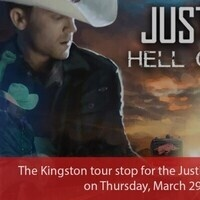"Canceled-- Justin Moore: ""Hell on a Highway"""