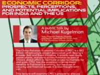 The China-Pakistan Economic Corridor: Prospects, Perceptions, and Potential Implications for India and the US