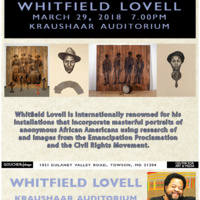 Artist Talk with Whitfield Lovell