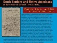 Imposed Consensus? An Examination of the Relations between Dutch Settlers and Native Americans in North America between 1674 and 1783.