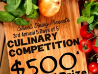 Culinary Competition Recipe Tasting
