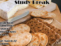 Cheese and Crackers Study Break