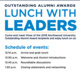 Outstanding Alumni Awards- Lunch With Leaders