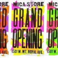 MICA Store Grand Opening!