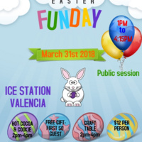 Easter Funday at Ice Station Valencia