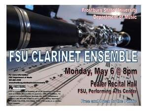 FSU Clarinet Ensemble Concert