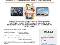 Carbon Markets for South Carolina:  Promotion of a Sustainable Carbon Market to Forest Landowners