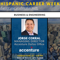 Hispanic Career Week: Jorge Corral, Managing Director Accenture