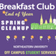 Breakfast Club End of Year Clean-Up & Celebration