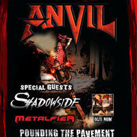 Anvil Live at The Bakery - 40 Years of Pounding The Pavement
