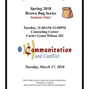 Brown Bag Series - Conflict and Communication