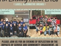 The Center for Community-Based Learning Presents An Evening about LABs (Lasell Alternative Breaks)