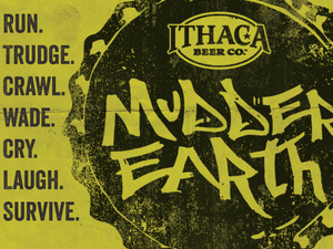 Mudder Earth 5k Mud Run at Ithaca Beer
