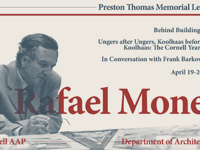 Rafael Moneo: A Series of Talks