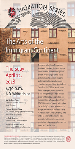 The Arts of the Immigrant Continent