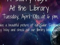 A Starry Night @ Milton-Freewater Public Library