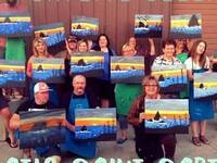 Patio Paint Party @ Skylite Cellars