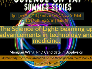 "Science on Tap Summer Series: ""The Science of Light!"""