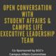 Open Conversation with Student Affairs & Campus Life Executive Leadership Team