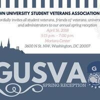 GUSVA Spring Reception