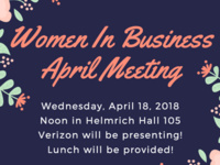 Women in Business April Professional Meeting