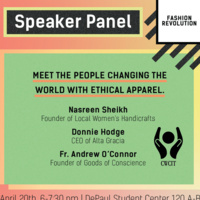 Clothing the Naked: A Speaker Panel on Ethics & Fashion