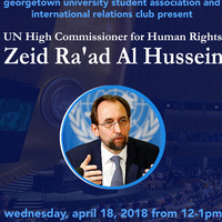 A Conversation with UN High Commissioner Zeid Ra'ad Al Hussein