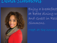 Breakfast with Guest in Residence Dena Simmons