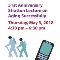 Stratton Lecture: Adapting to Aging with Confidence and Connection