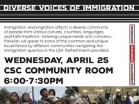 Diverse Voices of Immigration: Panel Discussion