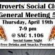 ISC Final General Meeting of the Semester