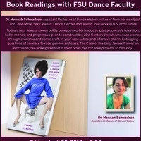 New Book Reading with Dance Faculty