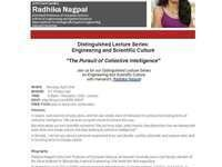Distinguished Lecture Series: The Pursuit of Collective Intelligence