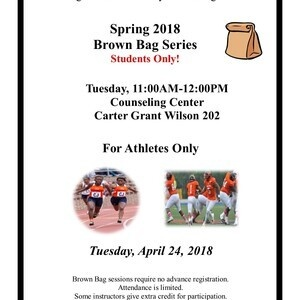 Brown Bag Series - For Athletes Only