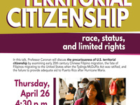 """Territorial Citizenship: Race, Status, and Limited Rights"""