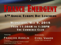 2018 Europe Day Luncheon: France Emergent