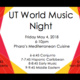 UT World Music Night