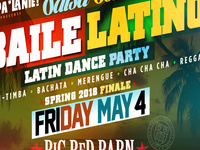 SalsaSon Baile Latino (Latin Dance Party) Spring 2018 Finale :: Dance Party with DJ